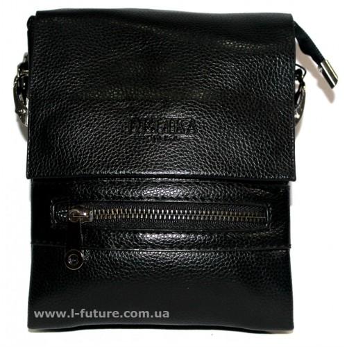 Мужская сумка арт. F018-1 Цвет Черный ID-182