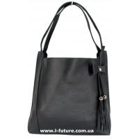 Женская сумка Арт. 1789  Цвет Чёрный