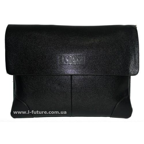 Мужская сумка арт. 21-3 Цвет Чёрный ID-407