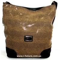 Женская сумка Лазерка арт.849 Цвет Бежевый