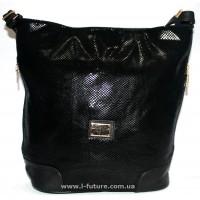 Женская сумка Лазерка арт.849 Цвет Чёрный