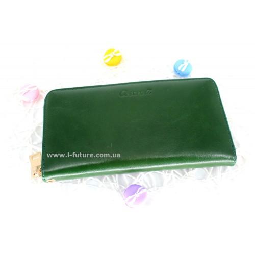 Кошелёк Арт. F-03-3124 Цвет Зелёный ID-676