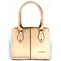 Женская сумка Арт.1718 Цвет Светлый Беж