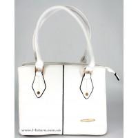 Женская сумка Арт.1718 Цвет Белый