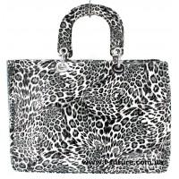Сумка Женская Арт. 7-6868-5 Б Цвет Серый Леопард