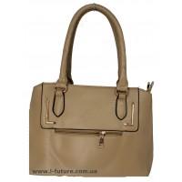 Женская сумка Арт. 8509 Цвет Тёмный Беж