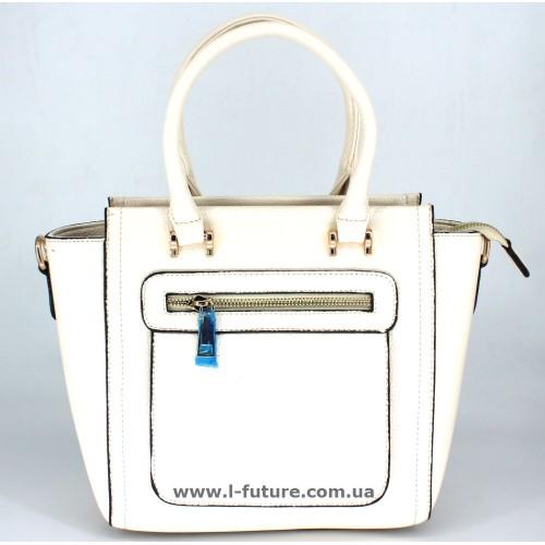 Женская Сумка Арт. 1709-508 Цвет Белый ID-969