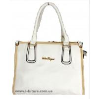 Женская сумка Арт. 3657  Цвет Белый