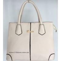 Женская сумка Арт. 5848-1 Цвет Светлый Беж