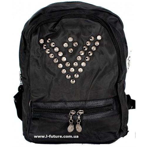 Женский рюкзак Арт. G-023  Цвет Чёрный ID-1017