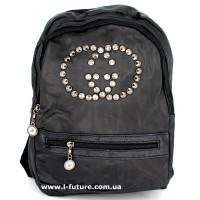 Женский рюкзак Арт. G-015  Цвет Чёрный