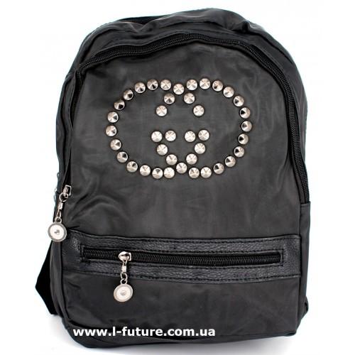 Женский рюкзак Арт. G-015  Цвет Чёрный ID-1018