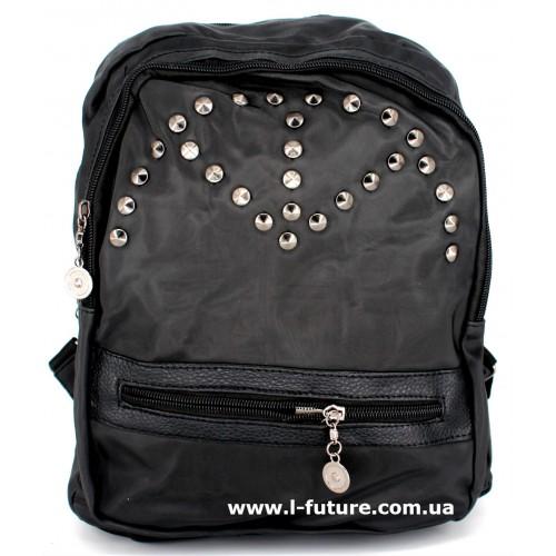 Женский рюкзак Арт. G-022  Цвет Чёрный ID-1019