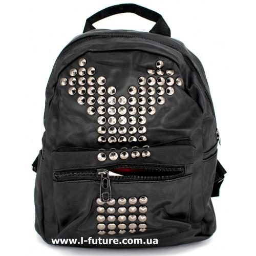 Женский рюкзак Арт. G-020  Цвет Чёрный ID-1020