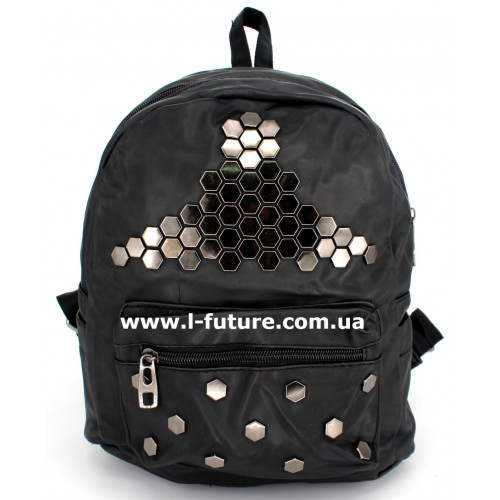 Женский рюкзак Арт. G-016  Цвет Чёрный ID-1021