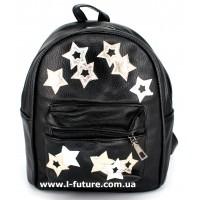 Женский рюкзак Арт. G-005  Цвет Чёрный