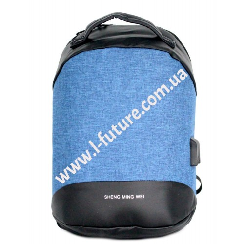 Универсальный  Рюкзак Арт.1691 Цвет Синий