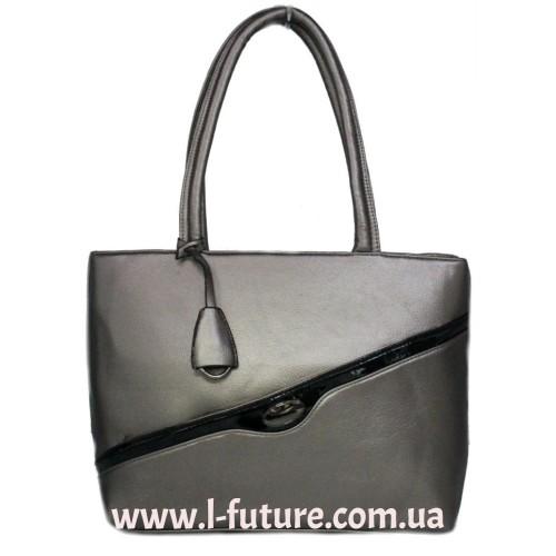 Женская Сумка Арт. 6252 Цвет Серебро