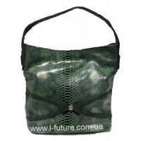 Женская сумка арт. 369624 Цвет Зелёный