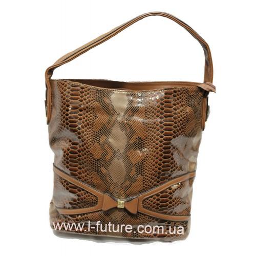 Женская сумка арт. 369624 Цвет Рыжий ID-108