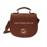 Женская сумка арт 20016-19.Цвет Коричневый