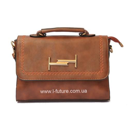 Женская сумочка арт 028.Цвет Рыжий. ID-140