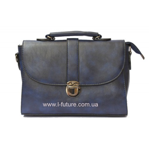 Женская сумочка арт 027.Цвет Синий ID-142