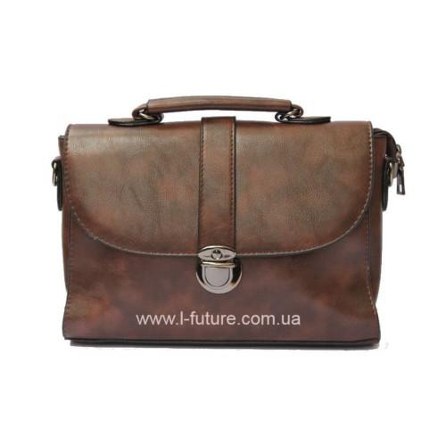 Женская сумочка арт 027.Цвет Коричневый ID-143