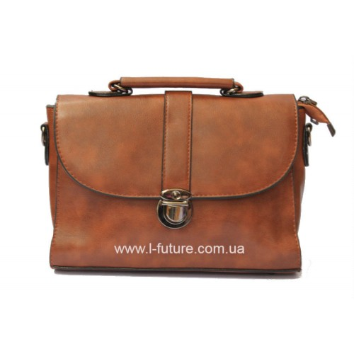 Женская сумочка арт 027.Цвет Рыжий ID-144