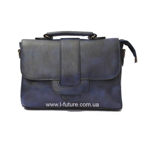 Женская сумочка арт 026.Цвет Синий ID-145