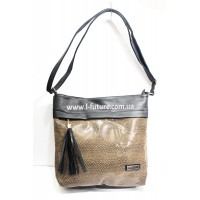 Женская сумка Лазерка арт.855 Цвет Коричневый