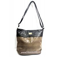Женская сумка Лазерка арт.852 Цвет Коричневый