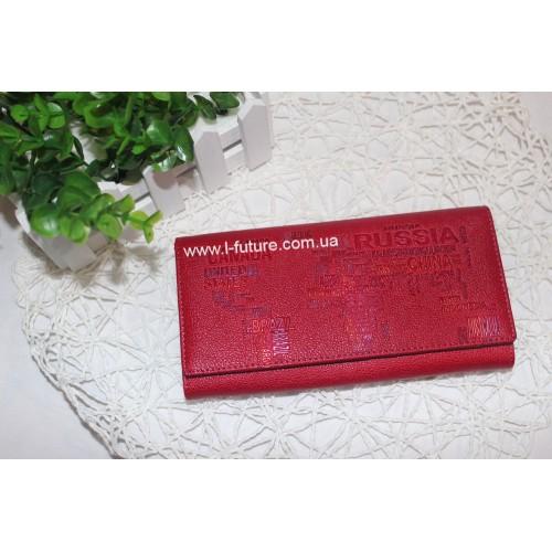 Женский  кошелёк арт.А 139-9111.Цвет Красный ID-243