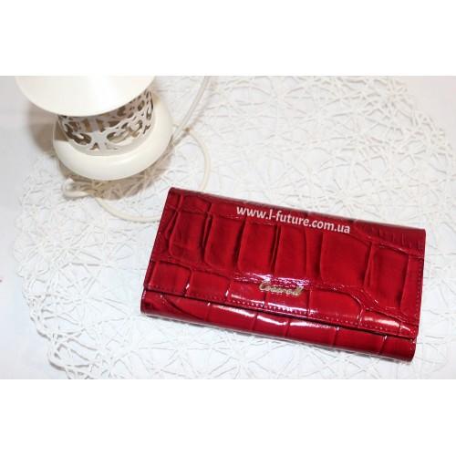 Женский  кошелёк арт.А100-9111 Цвет Красный ID-250