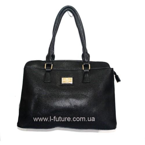 Женская сумка арт.9008 Цвет Чёрный ID-293