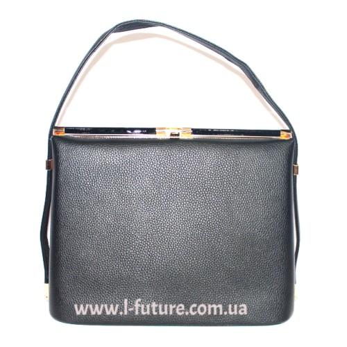 Женская сумка арт.11085 Цвет Чёрный ID-428