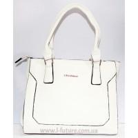 Женская сумка арт.519-1 Цвет Светлый Беж