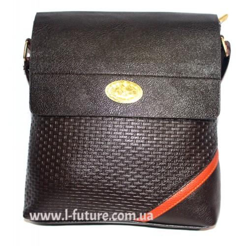 Мужская сумка арт. 2015-12 Цвет Коричневый ID-438