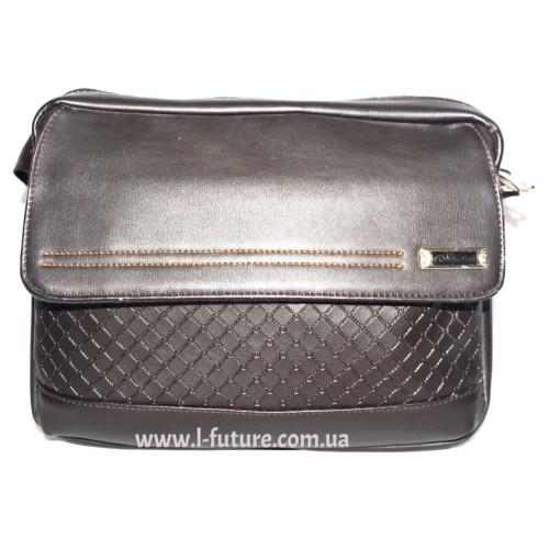 Мужская сумка Арт. 942 Цвет Коричневый ID-462