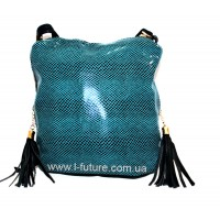 Женская сумка Лазерка Арт. 819 Цвет Бирюза