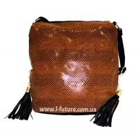 Женская сумка Лазерка Арт. 819 Цвет Коричневый