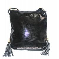 Женская сумка Лазерка Арт. 819 Цвет Чёрный