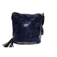 Женская сумка Лазерка Арт. 819 Цвет Синий