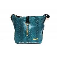 Женская сумка Лазерка Арт. 838 Цвет Бирюза
