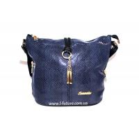 Женская сумка Лазерка Арт. 838 Цвет Синий