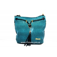 Женская сумка Лазерка Арт. 840 Цвет Бирюза