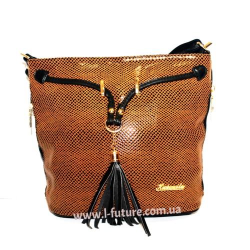 Женская сумка Лазерка Арт. 840 Цвет Хаки ID-516