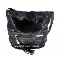 Женская сумка Лазерка Арт. 839 Цвет Чёрный