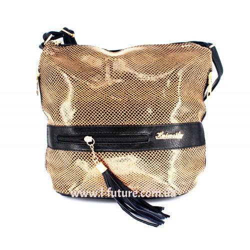 Женская сумка Лазерка Арт. 839 Цвет Коричневый ID-532
