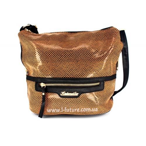 Женская сумка Лазерка Арт. 841 Цвет Коричневый ID-536